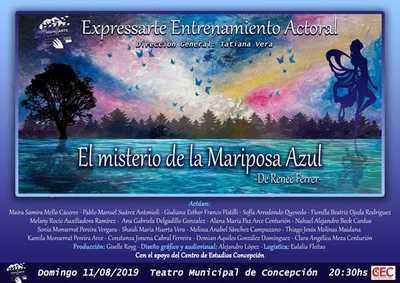 """Propuesta teatral """"El misterio de la Mariposa Azul"""""""