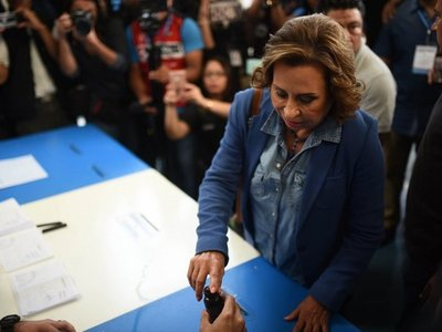 Guatemala: Sandra Torres dice que será la primera mujer presidenta
