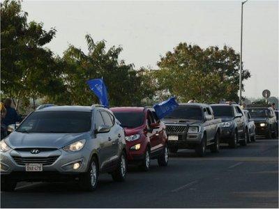 Prohíben caravana que iba a solicitar juicio político del Ejecutivo