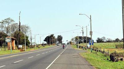 Desolador paisaje recibe a los visitantes en Caacupé