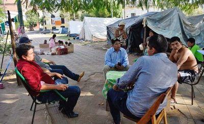 Insistirán en accionar contra ocupación de la Plaza del Congreso