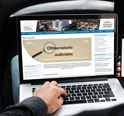 Hoy presentarán Observatorio de Causas Judiciales