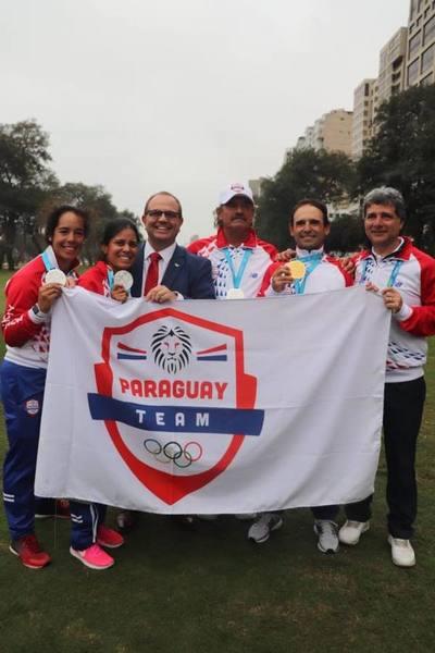 Golf suma tres medallas para Paraguay en día final de los Panamericanos