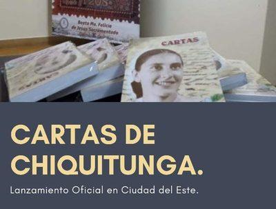 """Presentarán libro """"Cartas de Chiquitunga"""" en CDE"""