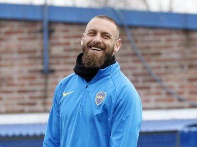 Daniele De Rossi debutará este martes en Boca Juniors