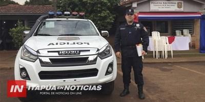 RECEPCIÓN DE PATRULLERA 0KM EN LA COMISARÍA 40 DE SAN ISIDRO