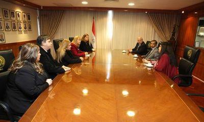 Ministros de la Sala Penal se reunieron con la fiscala general