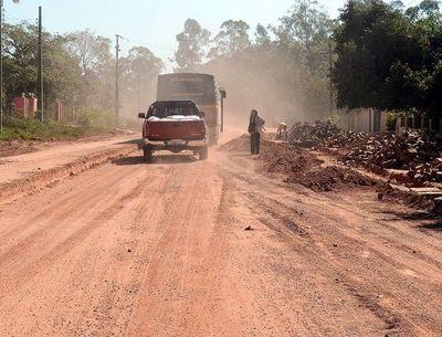 Postergan asfalto entre Pirayú y Paraguarí