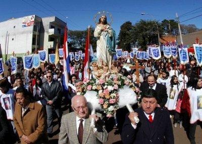 Hernandarias celebra sus fiestas en honor a Nuestra Señora de la Asunción