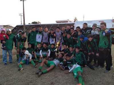 Cerro Cora también es campeón en la Sub 15