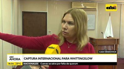 Captura internacional para Whittingslow