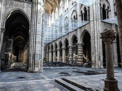 Alertan sobre riesgo persistente de hundimiento en Notre Dame