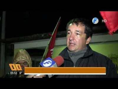 Campesinos de Paraguay Pyahura se alistan para marchar mañana