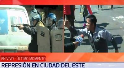 Villamayor justifica represión en Ciudad del Este