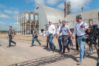 Presidentes de cooperativas del Chaco brindan su respaldo al Ejecutivo