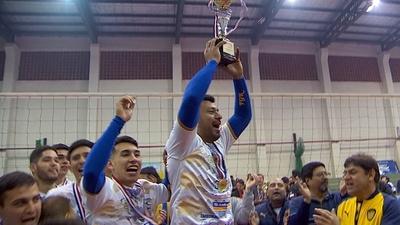 Sportivo Luqueño se consagra campeón del Apertura de vóley