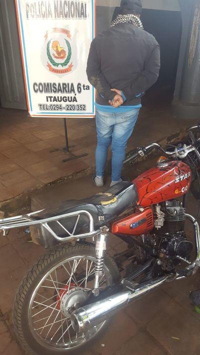En Itauguá, arrestan a presuntos delincuentes