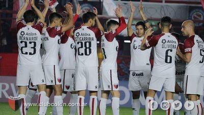 Colón va por la remontada en la Sudamericana