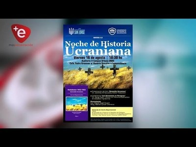 INVITAN A LA NOCHE DE HISTORIA UCRANIANA EN LA UNAE