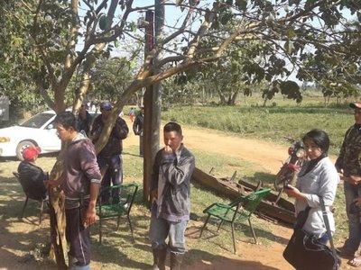 Campesinos denuncian ataque de civiles armados en San Pedro