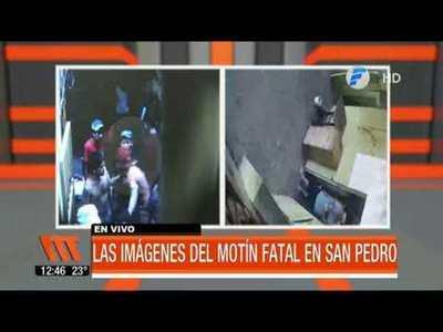 Revelan imágenes del motín fatal en la cárcel de San Pedro