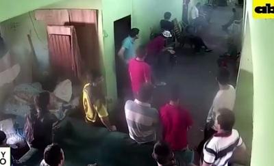 Revelan imágenes de la masacre en la cárcel de San Pedro