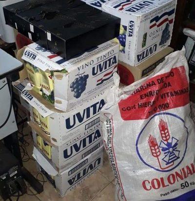 Incautan bebidas alcohólicas alistadas para ser ingresadas a Penitenciaría de CDE