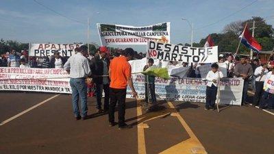Campesinos de San Pedro se preparan para nuevas movilizaciones