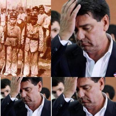 Efraín Alegre confunde mártires de Acosta Ñu con niños colombianos