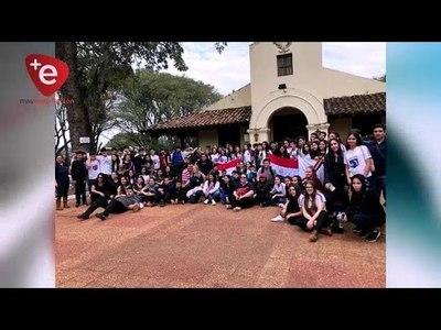 ESTUDIANTES DEL CREE VISITARON ACOSTA ÑU Y PIRIBEBUY