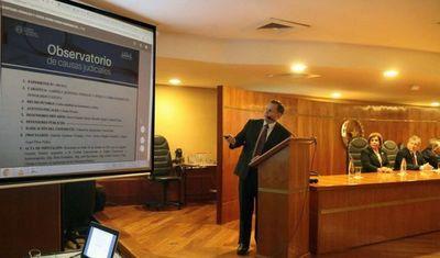 Observatorio de Causas Judiciales está disponible para la ciudadanía