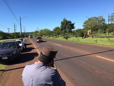 Patrulla Caminera estrena radar para monitoreo de tránsito
