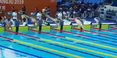 Paraguay logra histórica medalla de oro en natación