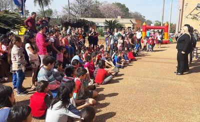 Magistrados homenajearon a los niños en su día