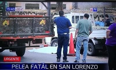 Tiroteo entre fleteros deja un muerto en San Lorenzo