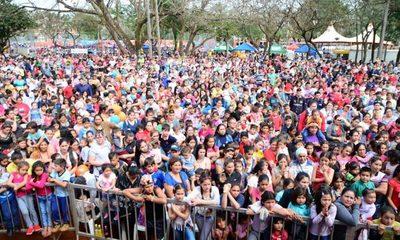 Miles de niños disfrutaron de su día en Ciudad del Este