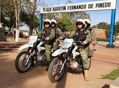 Vuelve la policía motorizada en Concepción