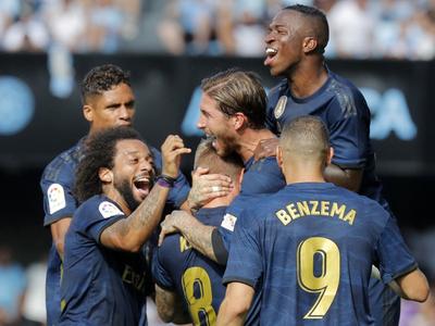Real Madrid hace su presentación con victoria sobre el Celta