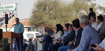 """Ganaderos chaqueños apoyan a Abdo y piden a políticos """"tranquilizar a revoltones"""""""