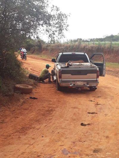 Marihuanero fue herido durante enfrentamiento