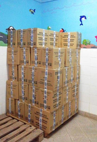 Más de 42.000 kilos de leche fortificada llegan a servicios de Caaguazú