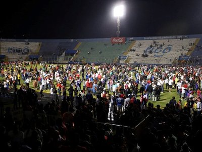 Tragedia en el fútbol hondureño