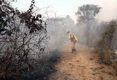 La SEN envía bomberos especialistas forestales en zona afectada del Chaco
