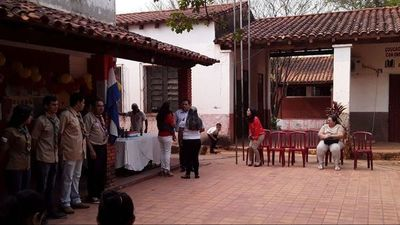 Boys Scouts de Horqueta reciben donaciones de la municipalidad local