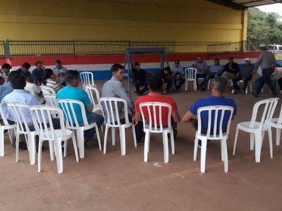 Movilizaciones a favor del juicio político a Mario Abdo en Canindeyú