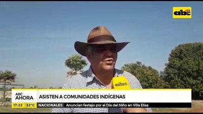 Asisten a comunidades indígenas de Fuerte Olimpo