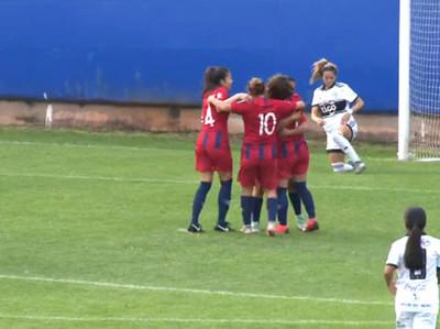 Cerro se impone ante Olimpia en el arranque del fútbol femenino