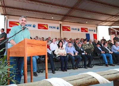 Abdo prometió una inversión de US$ 2.500 millones en el Chaco
