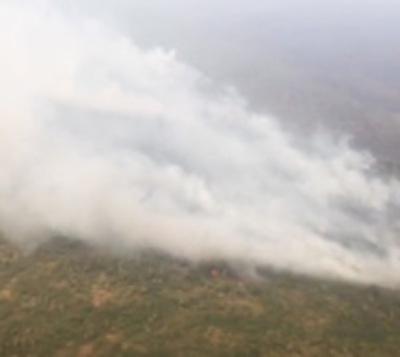 Incendio en Pantanal pierde intensidad, pero sigue el peligro
