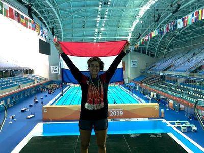 Paraguay trae 14 medallas